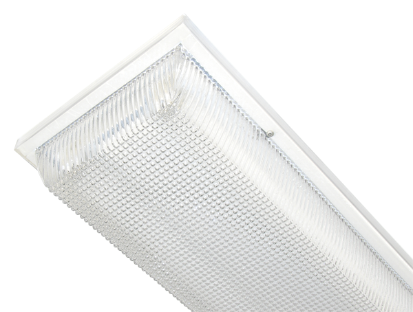 American Made Linear Fluorescent Lighting for Covered Ceilings